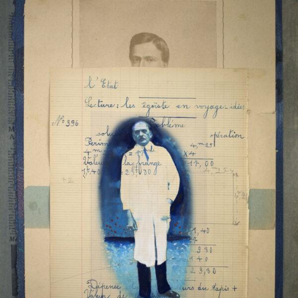 Jan Wessel - Collage, Uden titel 7 - 40 x 30