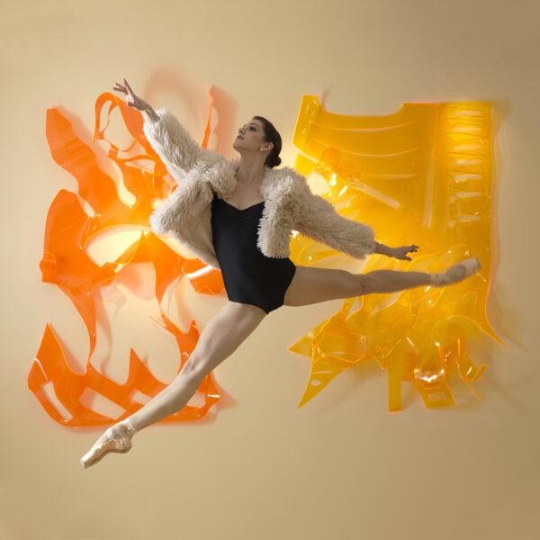Michael Brorsen - Ballet Dancer - 40 x 40 x 7 (2)