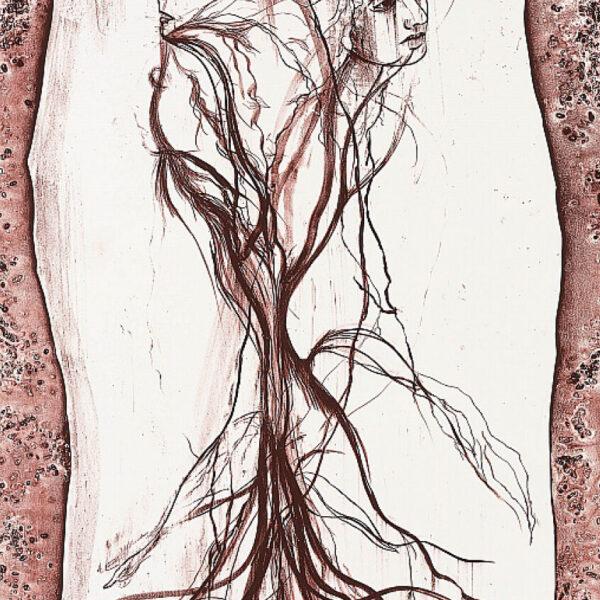 Cathrine-Raben-Davidsen-Mater-(Tree)-2017-100x69cm