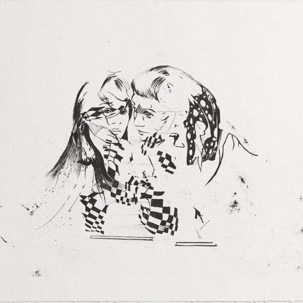 Cathrine-Raben-Davidsen-Trickster-(Girls)-2013-50x65cm